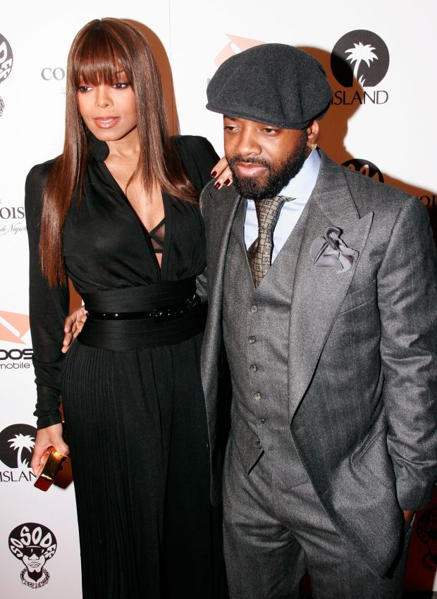With Jermaine Dupri attend Jermaine Dupri's Grammy Pre-Party in Hollywood.