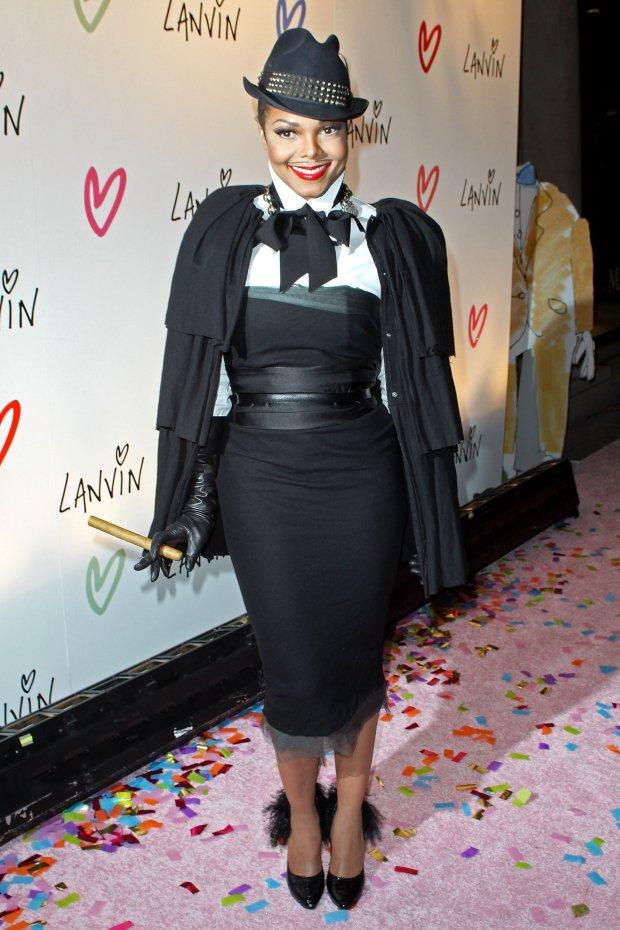 Atthe Halloween Extravaganza at Lanvin boutique in New York City.