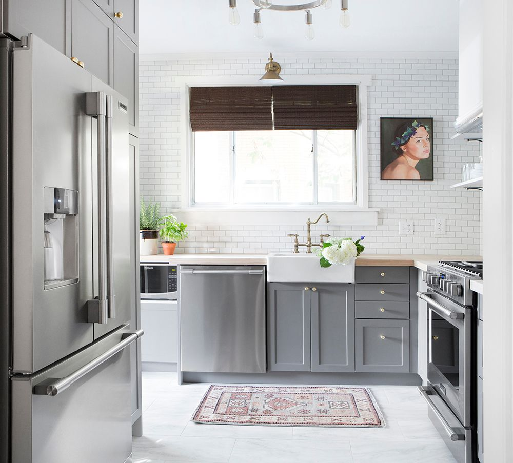 kitchen makeovers small tv for before and after 7 amazing huffpost life