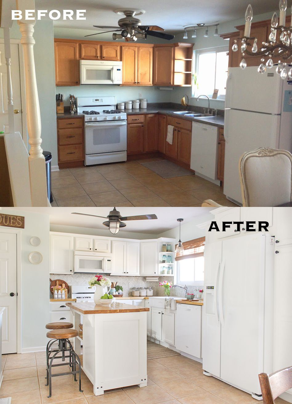 kitchen makeovers outdoor summer ideas before and after 7 amazing huffpost life white bright