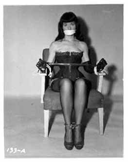 The delightful Bettie Page