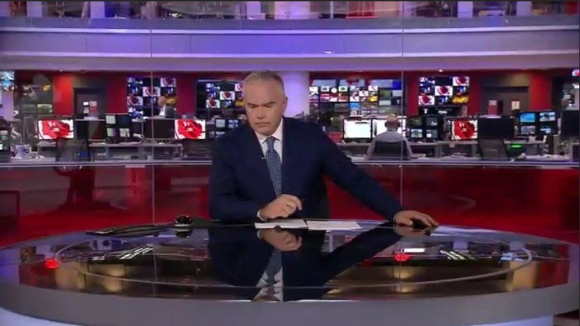 Someone Has Found A Strange Phenomenon In Every Huw Edwards BBC Broadcast