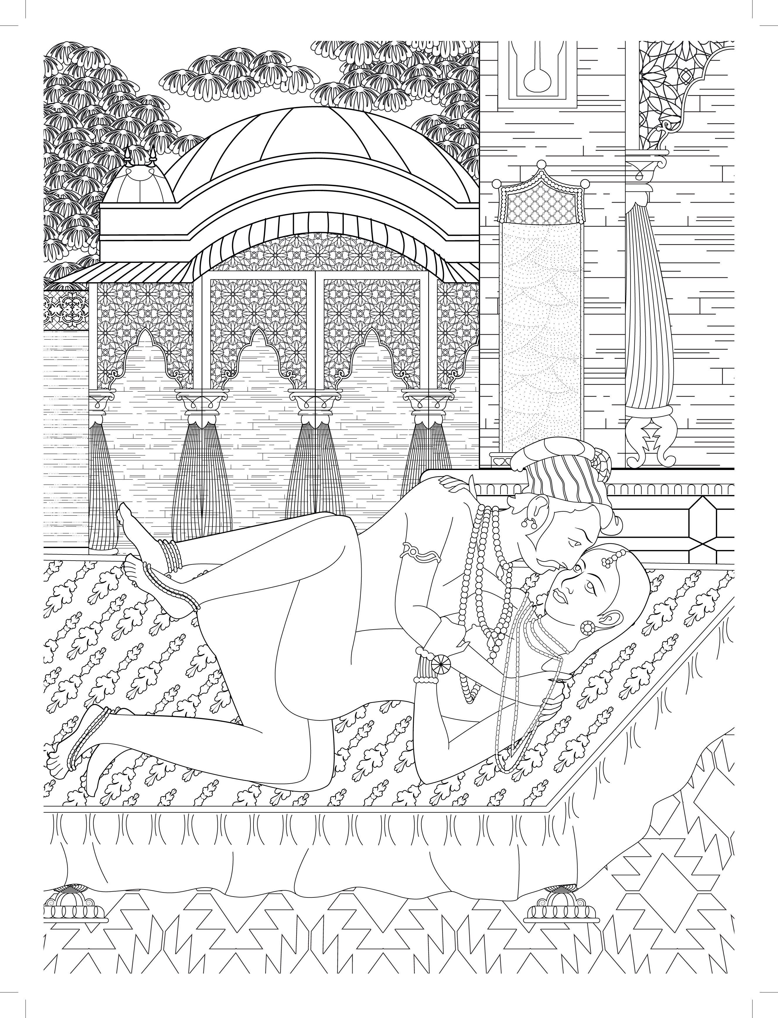 Kamasutra Coloring Book : kamasutra, coloring, Sutra, Colouring, You'll, Clothes, (NSFW), HuffPost