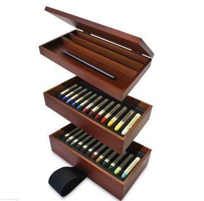 "Nesting Box oil Pastel Set<a href=""http://www.cheapjoes.com/sennelier-nesting-box-oil-pastel-set.html?gclid=CjwKEAiAmo_CBRC9q"