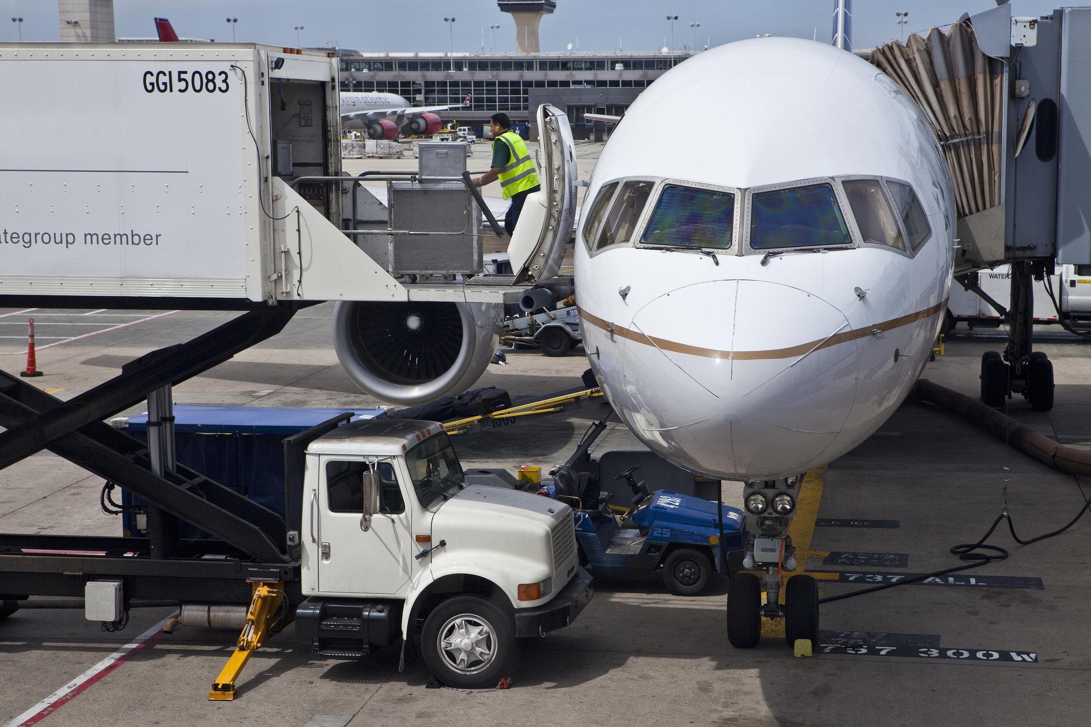 Baggage Handler Gets Locked Inside Planes Cargo Area