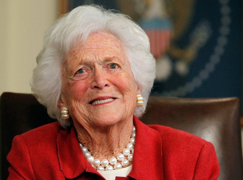 Former first lady Barbara Bush died at age 92.