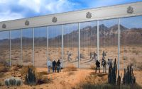 The Unlikely Design Proposal For Trump's Border Wall From ...