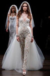 Bridal Fashion Week Spring 2018: Nearly-Naked Wedding ...