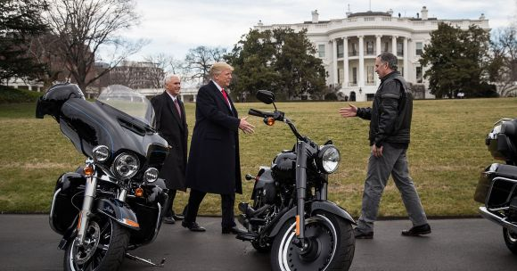 Trump's Favorite Motorcycle Company Is Cutting Manufacturing Jobs