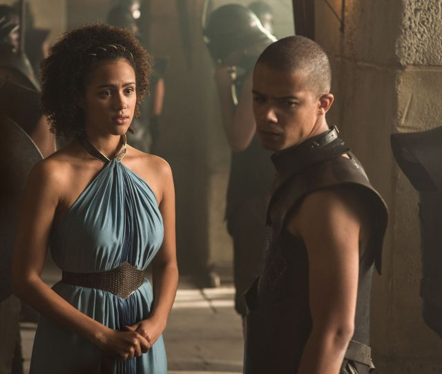 Missandei And Grey Worm In Season 5