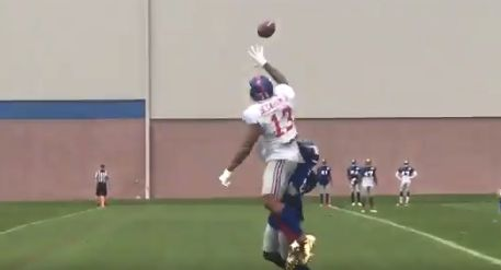 Odell Beckham Jr. Proves Yet Again That He Can Catch Anything In The Universe Odell Beckham Jr. Proves Yet Again That He Can Catch Anything In The Universe 5991dac31400007235ed0976