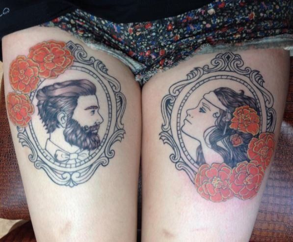 Why Couples Get Tattoos For Each Other -- And What Happens If They Break Up Why Couples Get Tattoos For Each Other — And What Happens If They Break Up 5993775b22000009371a61fd
