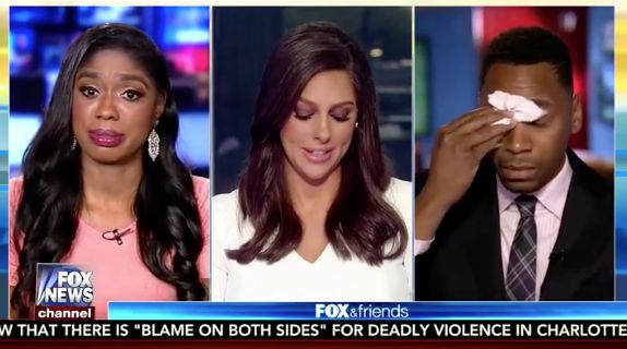 Fox Friends Host Miserably Fails To Moderate Emotional