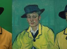 Watch Actors Transform Into Living Van Gogh Paintings Before Your Eyes images 2