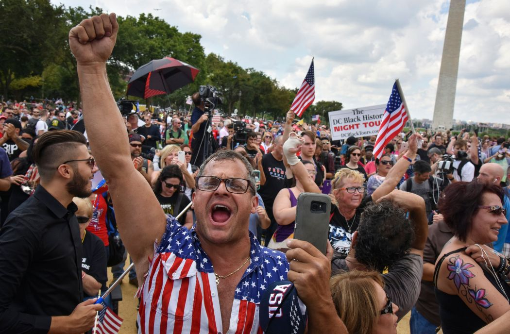 Image result for Trump Supporters Invite Black Lives Matter On Stage In A Rare Moment Of Unity