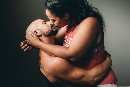 Image result for Picture of black couple heated