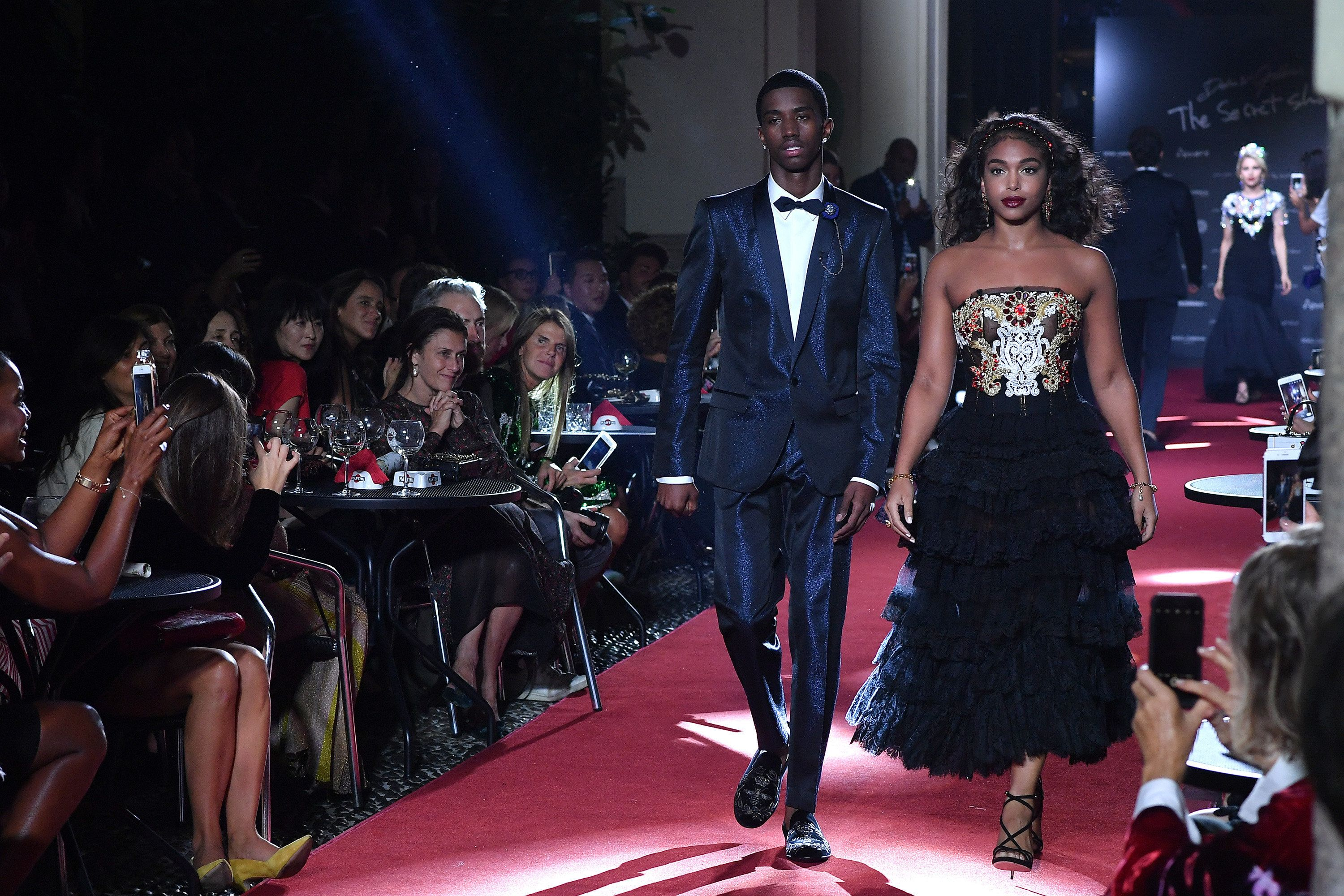 59ca86ad1900004e5d565b88 - Christian Combs, Son Of Sean 'Diddy' Combs, Models For Dolce & Gabbana