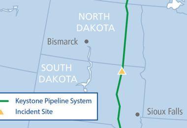 Keystone Pipeline Leaks 5,000 Barrels Of Oil In South Dakota, TransCanada Says