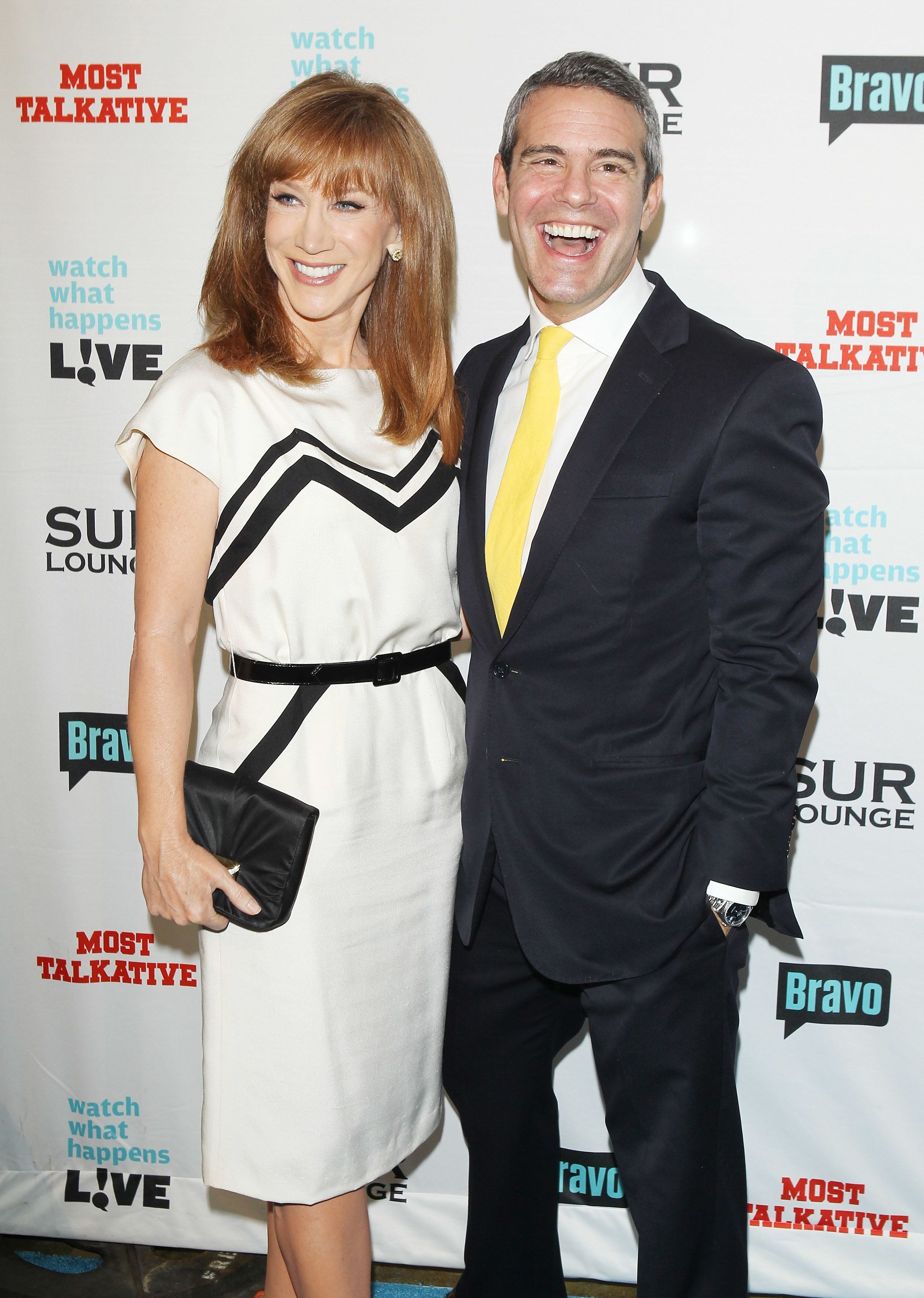 Fantastic! Kathy Griffin Claims She Has A Shocking Letter From Andy Cohen's Alleged Former Lover