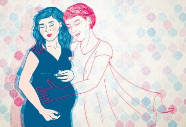 I Lost My Mom During My First Pregnancy