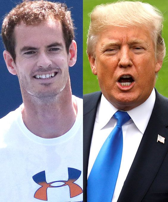 tennis star Tennis Star Andy Murray Mercilessly Mocks Donald Trump Over Time Magazine Claim 5a191e3c1500008d45859c6f