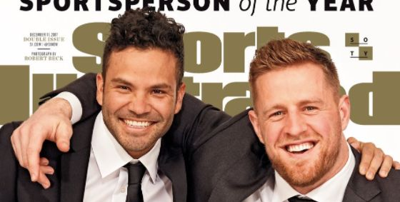J.J. Watt, Jose Altuve Named Sports Illustrated Sportsperson Of The Year J.J. Watt, Jose Altuve Named Sports Illustrated Sportsperson Of The Year 5a266cfa140000436db6b75e