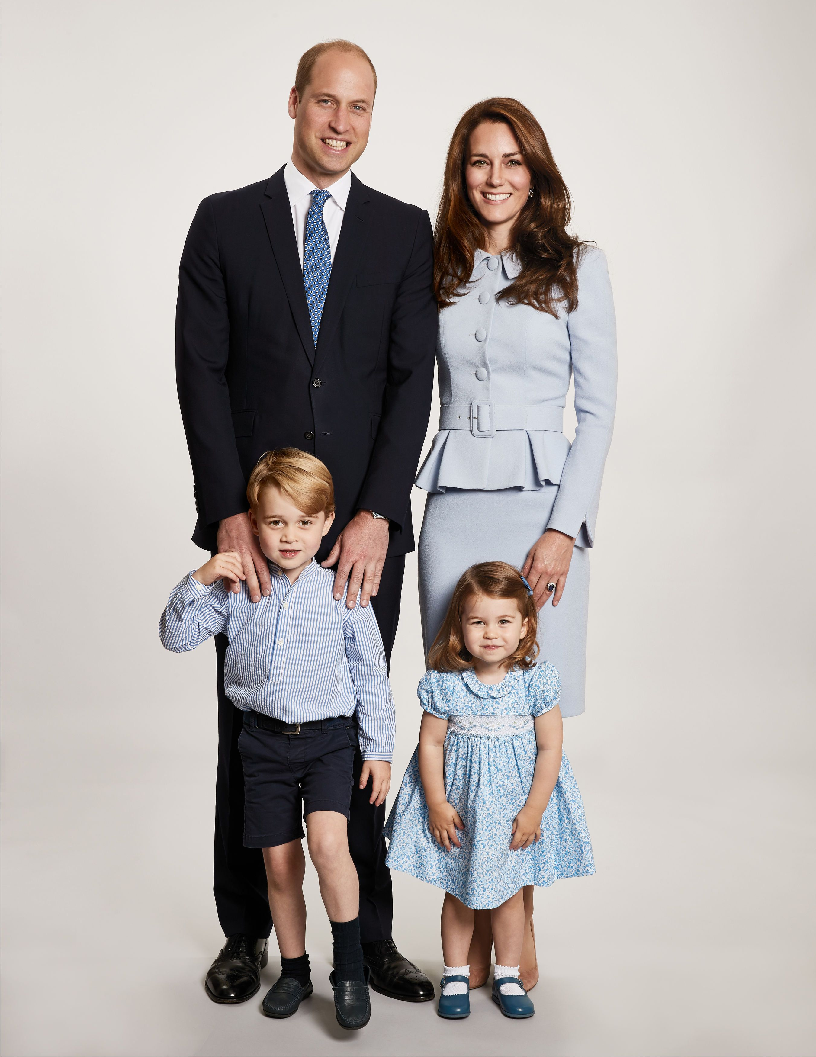 The royal family Christmas card for 2017.