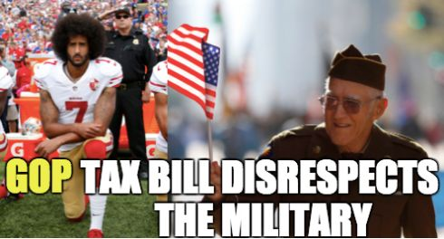 Hey Conservatives, What Happened To 'Respecting The Military'? Hey Conservatives, What Happened To 'Respecting The Military'? 5a3c4e1a1c00003c0068ce39