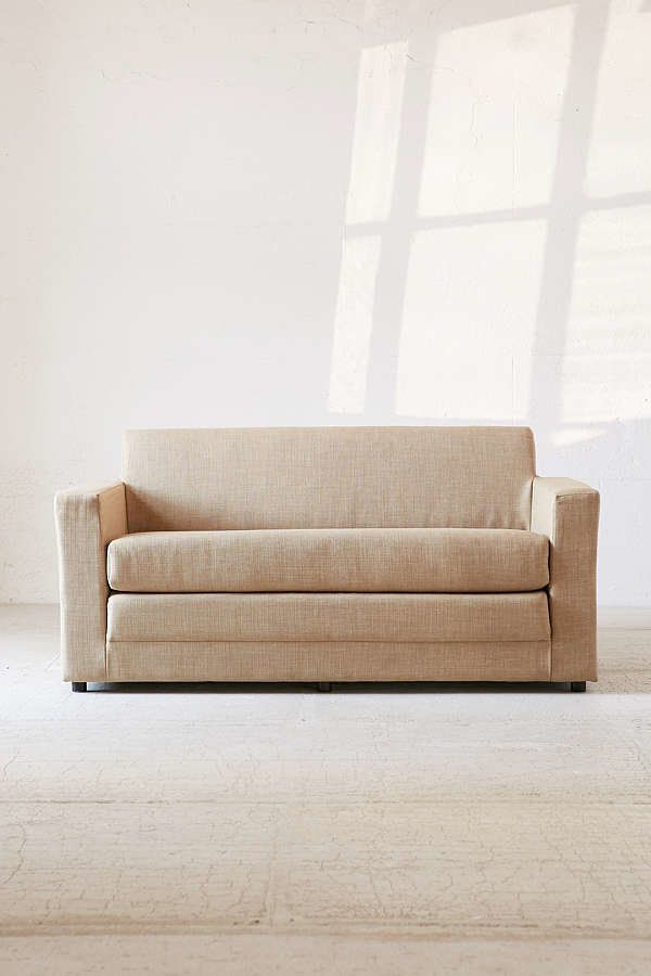 sofas for small es com 12 couches spaces that are actually roomy huffpost life anywhere sleeper sofa