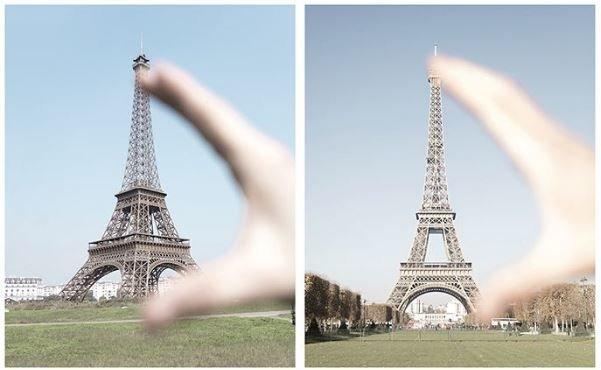 Εσείς μπορείτε να βρείτε τις διαφορές μεταξύ του ψεύτικου Πύργου του Άιφελ και του κανονικού;