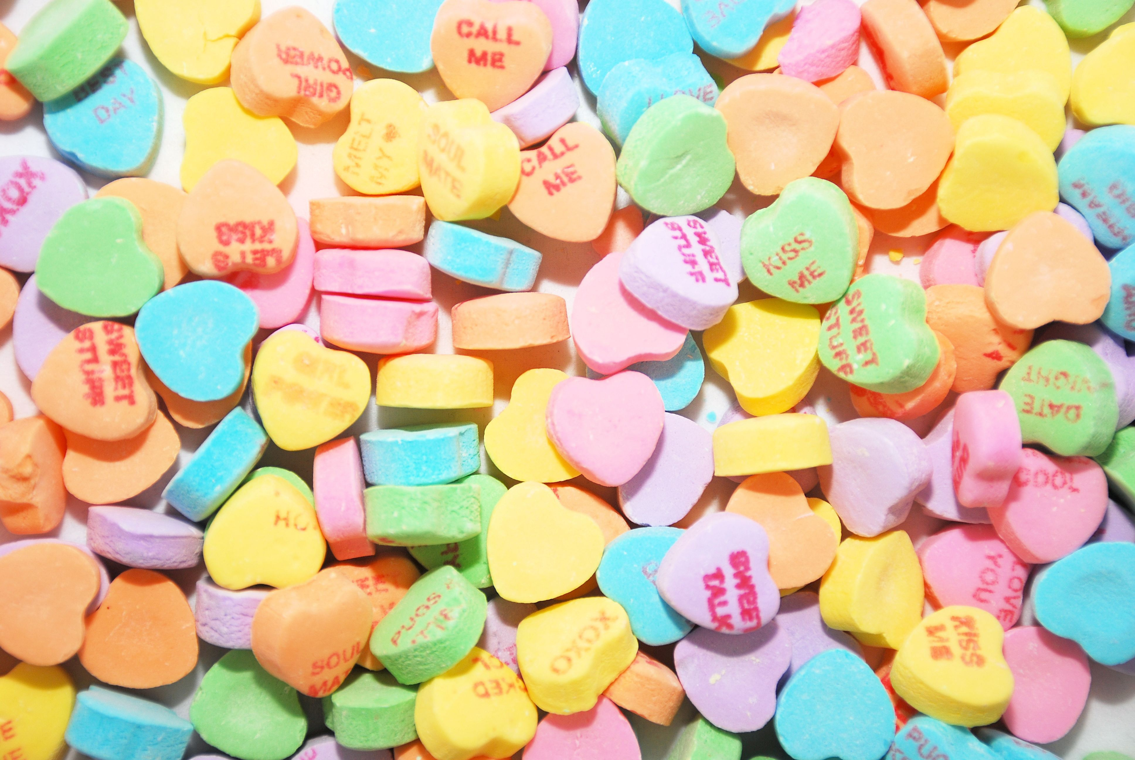 The Weird Backstory Behind Those Valentines Day Candy