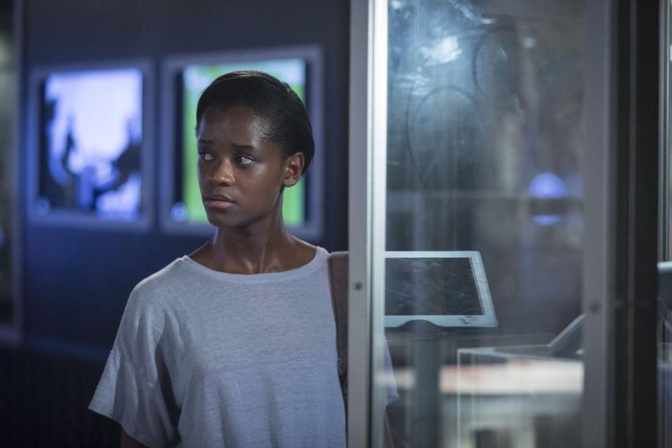 Letitia in 'Black Museum'