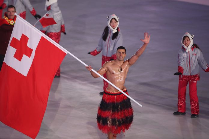 Tongan Flag Bearer Sets Himself Inspirationally Low Bar For Olympic Success Tongan Flag Bearer Sets Himself Inspirationally Low Bar For Olympic Success 5a8591991e00002c007abcb1