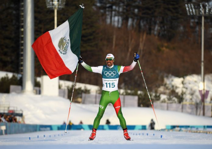 Mexican Cross-Country Skier Finishes Last, Gets Tearjerking Hero's Welcome Mexican Cross-Country Skier Finishes Last, Gets Tearjerking Hero's Welcome 5a86b0451e000037007abe07