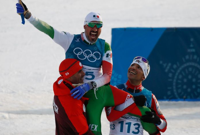 Mexican Cross-Country Skier Finishes Last, Gets Tearjerking Hero's Welcome Mexican Cross-Country Skier Finishes Last, Gets Tearjerking Hero's Welcome 5a86b0d62000003800eaf0c8
