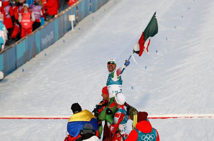 Mexican Cross-Country Skier Finishes Last, Gets Tearjerking Hero's Welcome Mexican Cross-Country Skier Finishes Last, Gets Tearjerking Hero's Welcome 5a86b0ee2000002d00eaf0ca