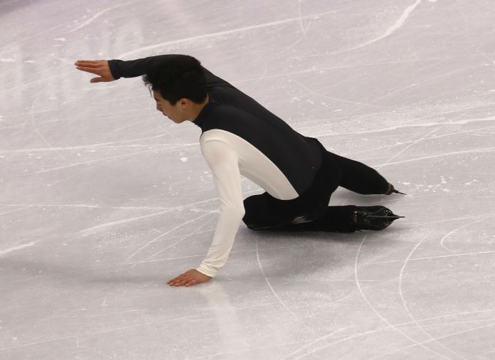 U.S. Figure Skater Nathan Chen Is A Total Mess Again At Winter Olympics U.S. Figure Skater Nathan Chen Is A Total Mess Again At Winter Olympics 5a86b3552000004d00eaf0d3