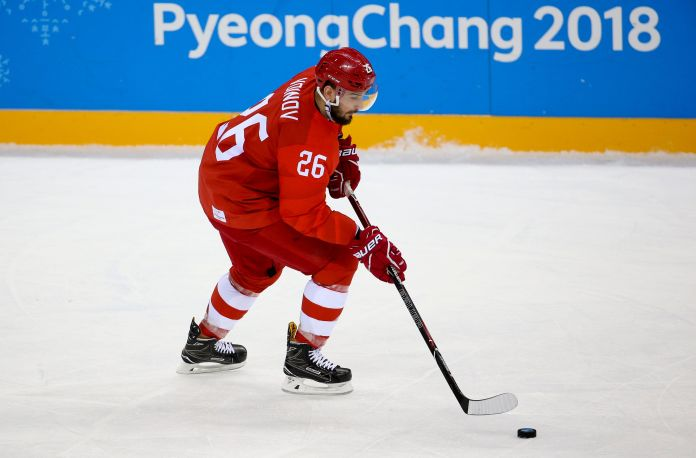 Olympic Analyst Laments Hockey Player's 'Unfortunate' Domestic Abuse Incident Olympic Analyst Laments Hockey Player's 'Unfortunate' Domestic Abuse Incident 5a898c362000002d00eaf303
