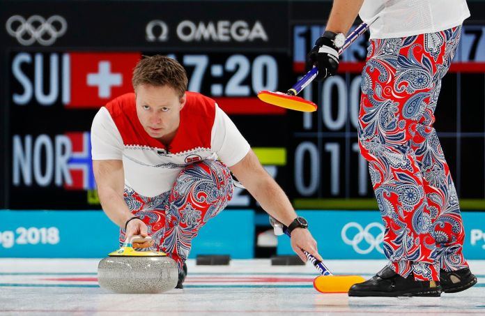 The Norwegian Curling Team Should Win Gold For Their Pants The Norwegian Curling Team Should Win Gold For Their Pants 5a8afafd2000003800eaf4f0