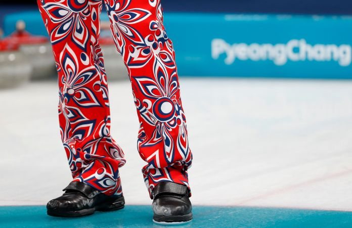 The Norwegian Curling Team Should Win Gold For Their Pants The Norwegian Curling Team Should Win Gold For Their Pants 5a8afbab2000003900eaf4f4