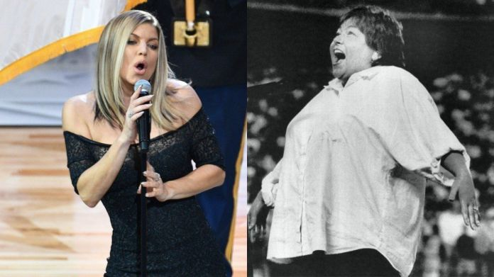 Roseanne Jokes Her National Anthem Was 'Better' Than Fergie's Roseanne Jokes Her National Anthem Was 'Better' Than Fergie's 5a8b14472100003900601af4