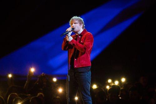 Resultado de imagen para ed sheeran brit awards 2018