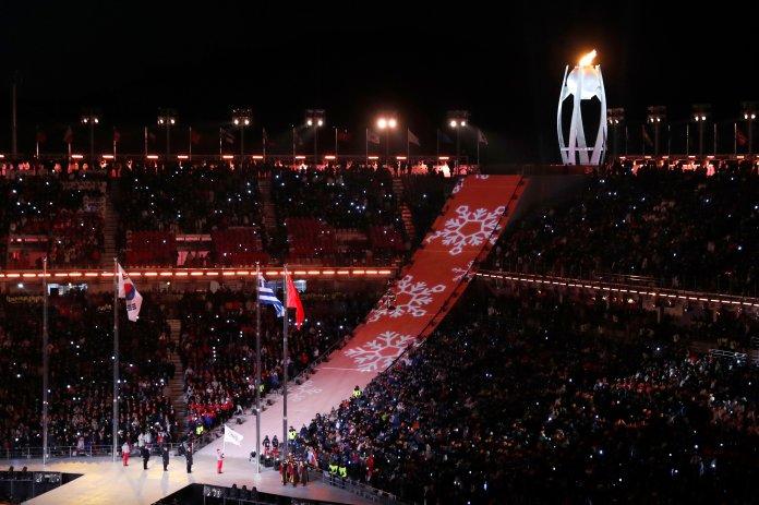 Stunning Photos Capture The 2018 Olympics' Closing Ceremony In All Its Glory Stunning Photos Capture The 2018 Olympics' Closing Ceremony In All Its Glory 5a92c6501e000046057acbe7