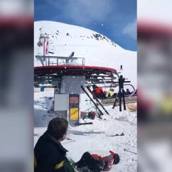 Ski Chair Lift Malfunction Different Covers For Weddings Georgia Hurls People Into Air Injuring 11 Huffpost
