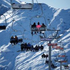 Ski Chair Lift Desk Posture Best Georgia Malfunction Hurls People Into Air Injuring 11 A Chairlift At The Gudauri Resort In Caucasus Mountain Range