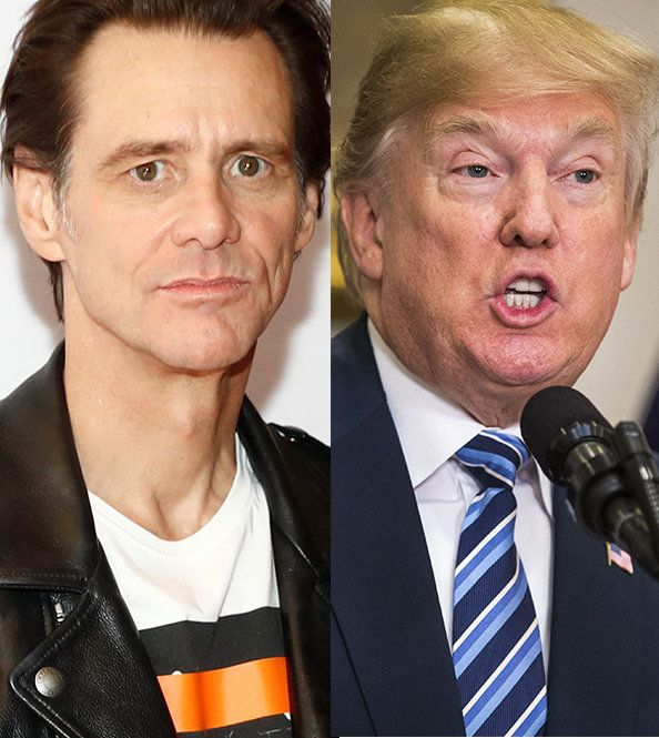 Jim Carrey S Submission For Donald Trump S Official