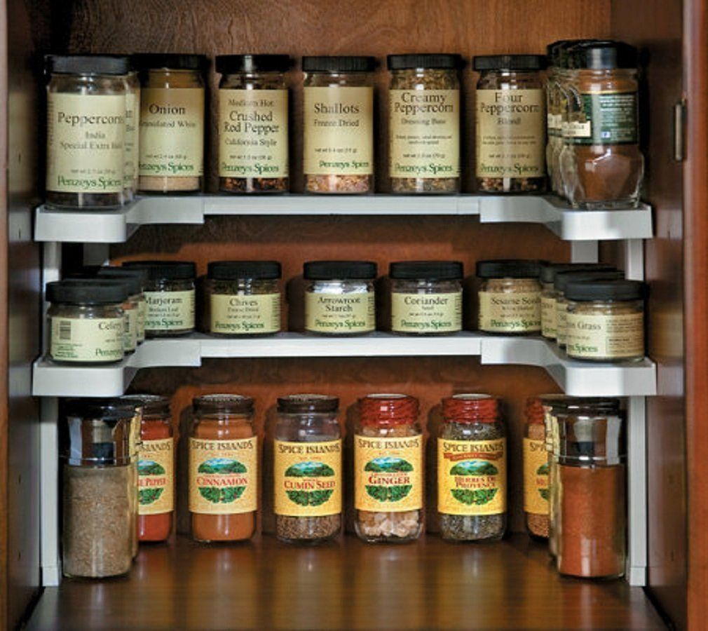 how to store spices in a small kitchen
