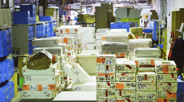 A storage unit full of untested rape kits.