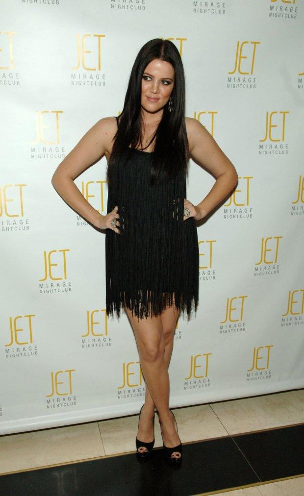 At sister Kim Kardashian's 27th birthday celebration at Jet Nightclub at The Mirage Hotel& Casino Resort in Las Veg