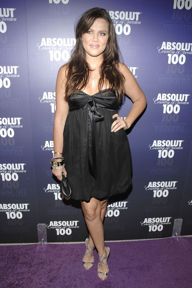 At the Absolut 100 Official Concert after-party for Kanye West at GOA in Hollywood.